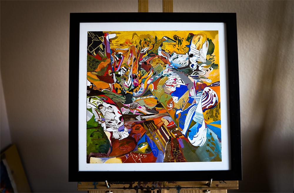 theVegasTrap_framed